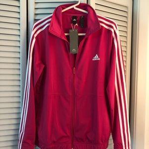 NWT. Adidas jacket. Sz L.